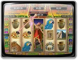 Play Mayan Queen Slots now!