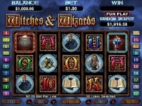 Play Witches and Wizards Slots now!