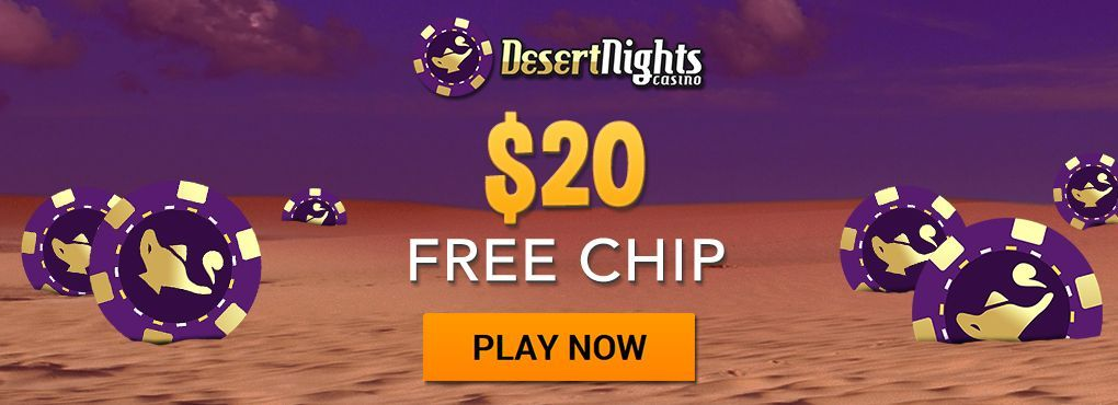 $50 Free With Any Deposit at Desert Nights