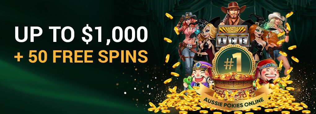Ace Pokies Welcomes You With 50 Free Spins and Free Cash
